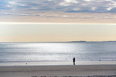 Photograph - Morning On Revere Beach Revere Ma by Toby McGuire