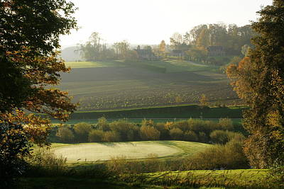 Wall Art - Photograph - Morning On The 5th Hole by Brandy Herren