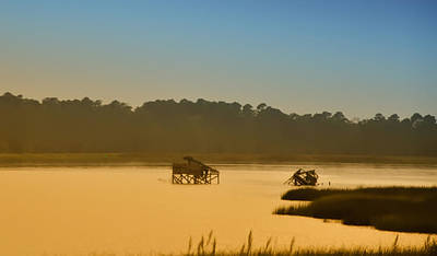 Morning On The Bay Art Print by Bill Cannon
