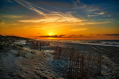 Photograph - Morning On The Bogue Banks by John Harding