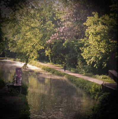 Photograph - Spring Morning On The Canal by Samuel M Purvis III