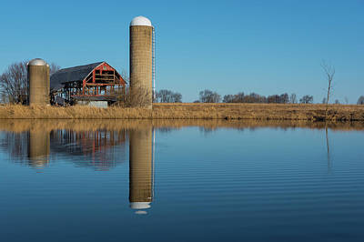 Photograph - Morning On The Farm by Brad Bellisle