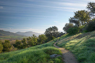 Photograph - Morning On The Highland Valley Trail by Alexander Kunz