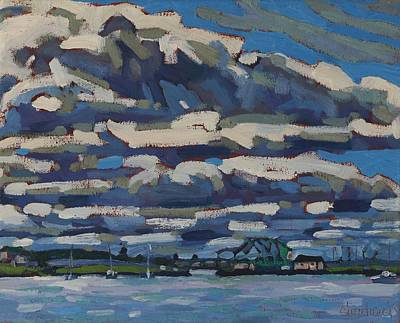 Painting - Morning On The Kingston Causeway by Phil Chadwick