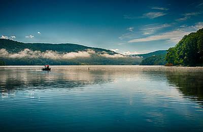 Anne Geddes Large Format Polaroids - Morning on the Kinzua Reservoir by Bill Kemp