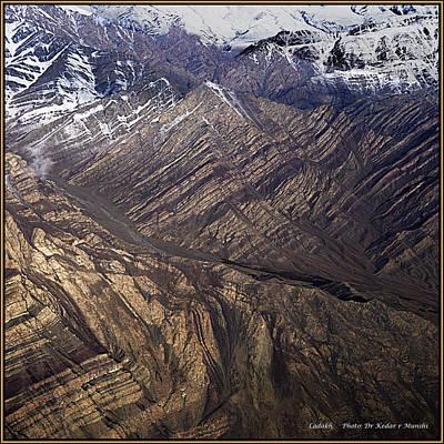 Morning On The Ladakh Mountains.  Art Print