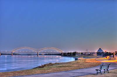 Morning On The Mississippi Art Print