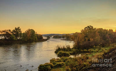 Photograph - Morning On The Payette River by Robert Bales