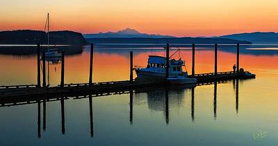 Photograph - Morning On The Pier Mod by Rick Lawler