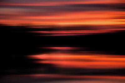 Photograph - Morning On The River Abstract by Michael Arend