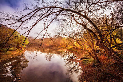 Photograph - Morning On The River by Debra and Dave Vanderlaan