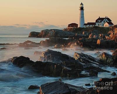Morning On The Rocks Art Print by Paul Noble