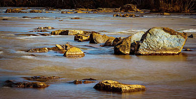 Photograph - Morning On The Rocky River by Ant Pruitt