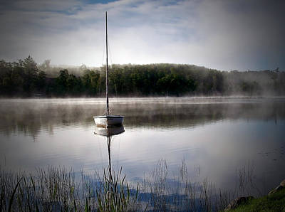 Photograph - Morning On White Sand Lake by Lauren Radke