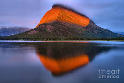 Photograph - Morning Orange Stripe by Adam Jewell