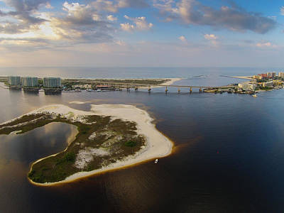 Photograph - Morning Over Perdido Pass by Michael Thomas