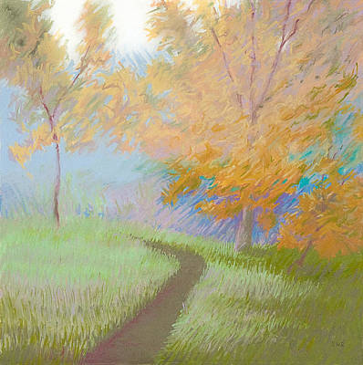 Pastel - Morning Path 2 by Bruce Richardson