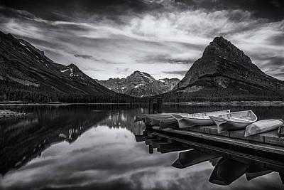 Canoe Photograph - Morning Peace by Andrew Soundarajan