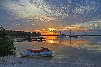 Photograph - Morning Peace - Florida Sunrise by HH Photography of Florida