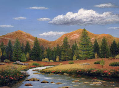 Painting - Morning Peace by Gordon Beck