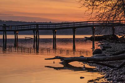 Photograph - Morning Pier by Buddy Scott