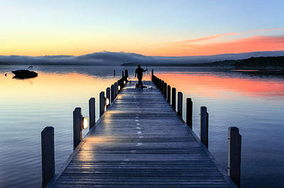 Photograph - Morning Pier by Todd Klassy