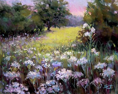 Pastel - Morning Praises by Susan Jenkins