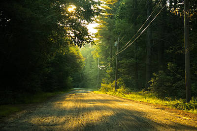 Maine Landscape Photograph - Morning Prayer by Laurie Breton