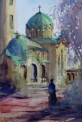 Painting - Morning Prayers by Sandra Strohschein