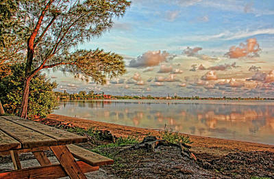 Photograph - Morning Quiet by HH Photography of Florida