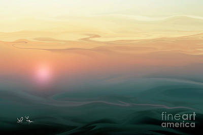 Digital Art - Morning Quiet by Leo Symon