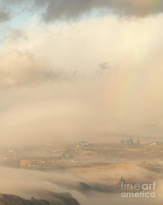 Photograph - Morning Rainbow by Mike Dawson