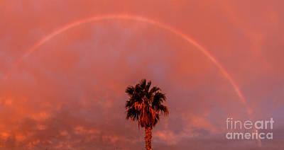 Photograph - Morning Rainbow by Robert Bales