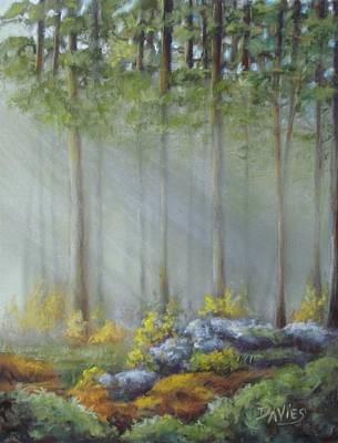 Morning Rays Art Print by Debra Davies