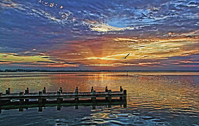 Photograph - Morning Rays by HH Photography of Florida