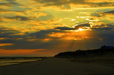 Morning Rays Over Cape Cod Art Print