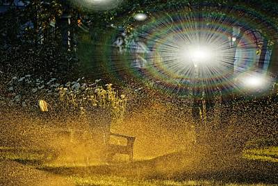 Pop Art - Morning Reflections by Image Takers Photography LLC - Carol Haddon