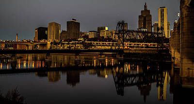 Lowertown Photograph - Morning Reflections by Nick Peters