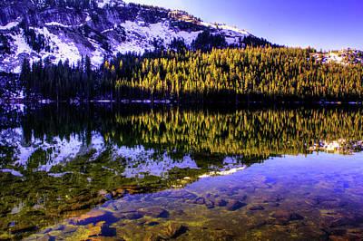 Photograph - Morning Reflections On Lake Tioga by Roger Passman