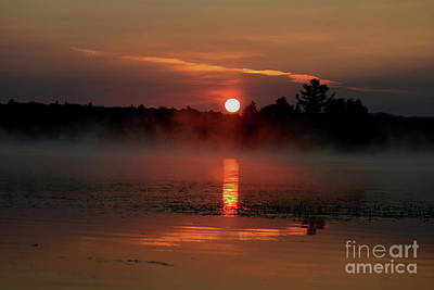 Photograph - Morning Reflections On Lake Umbagog   by Neal Eslinger