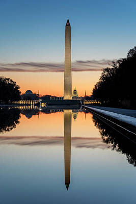 Photograph - Morning Reflections by Ryan Wyckoff
