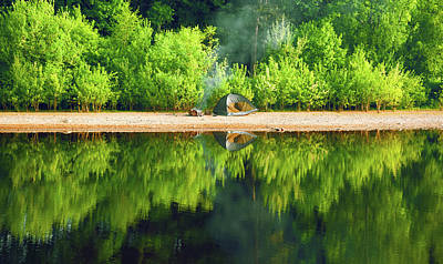 Photograph - Morning Reflections by Svetlana Sewell
