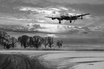 Photograph - Morning Return Black And White Version by Gary Eason