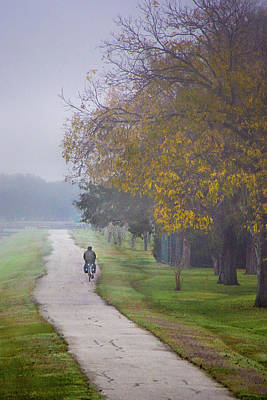 Photograph - Morning Rider by James Woody
