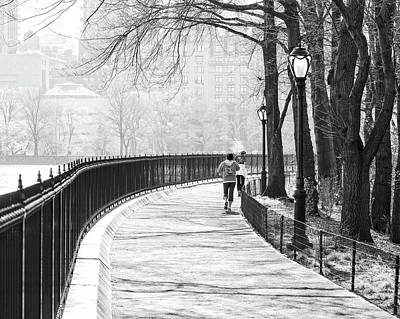 Photograph - Morning Run by Alan Raasch