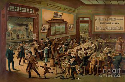 Morning Rush Hour, 1886 Art Print