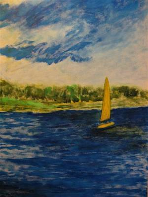 Painting - Morning Sail by John Scates