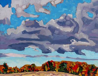 Group Of Seven Painting - Morning Sc by Phil Chadwick