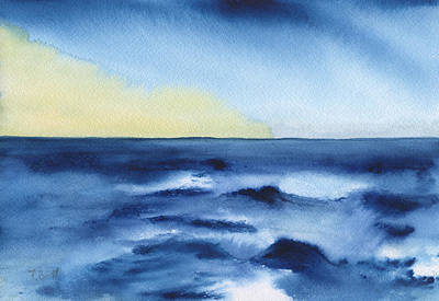 Painting - Morning Sea by Frank Bright