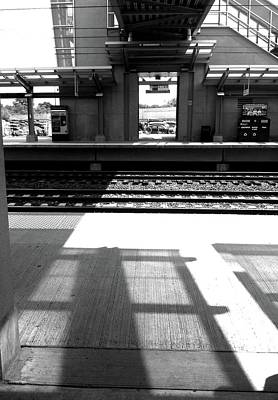 Photograph - Morning Shadows On The Metro by Margie Avellino